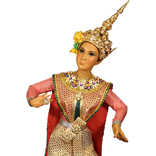 "United States Historcial Society Doll - ""Taiwan Dancer"""
