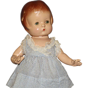 "Wonderful  All Original  Vintage  Composition  ""Patsy"" Doll"