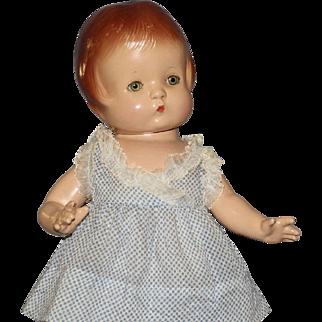 "Wonderful  All Original  Vintage  Composition  ""Patsy"" Doll"