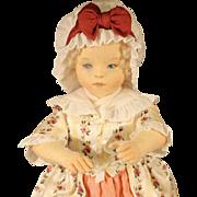 """R. John Wright Cloth Doll - """"Martha"""""""