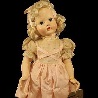 "Seldom Seen - Effanbee's - ""Tintair"" doll - All Hard Plastic ""Honey"" - circa:1951"