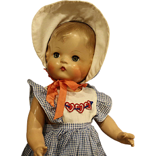 Vintage  Composition  'Patsy Joan'  Doll