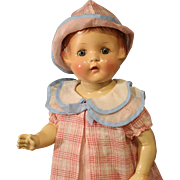 Darling Vintage 'Petite' Composition Doll by American Character