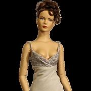 """Rare Robert Tonner Fashion Doll - """"Bon Anniversaire"""" - silver - NRFB"""