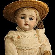 Antique German Bisque Doll by Kestner