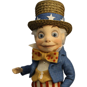 "Terrific - R. John Wright Doll - ""Uncle Sam"" - NRFB"