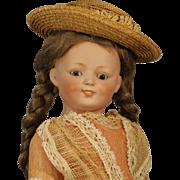"Darling Antique ""Kestner"" Doll - - Rare Character Mold #185"