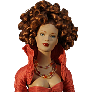 "'Award Winner' - Robert Tonner Fashion Doll - 'Tyler Wentworth' - ""Cinnabar"" - NRFB"
