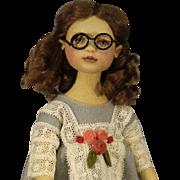 """'Sweet' - Maggie Iacono Cloth Doll - """"Marion"""" - NRFB"""