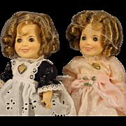 Two Shirley Temple Dolls - circa:1982 - NRFB