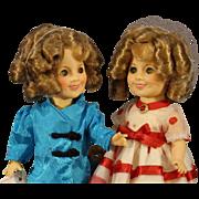 Two Shirley Temple Dolls - circa: 1982 - NRFB