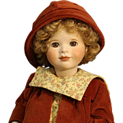 """Wendy Lawton All Bisque Doll - """"Amber Autumn""""- MIB"""