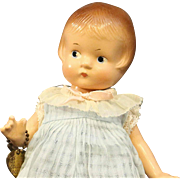 EffAnBee Patsyette Composition Doll - All Original in Pale Blue Outfit