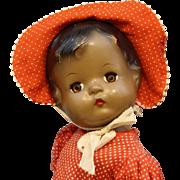 "Seldom Seen - Black ""Patsy Joan"" - Composition Doll - circa: 1946"