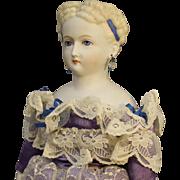 Emma Clear Doll - 'Parthenia' - Blonde Hair