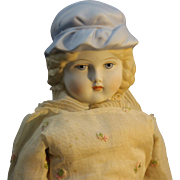 """Rare - Emma Clear Parian Doll - """"Lady Carolyn"""""""