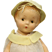 "Very Rare - Composition Doll - ""Princess Polly"" by Domec"