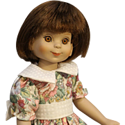 Large 13 Inch - 'Betsy McCall' Doll in Floral Print Dress