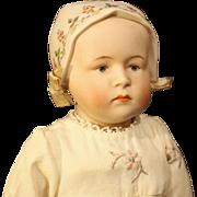 "Seldom Seen - Emma Clear Parian Doll - ""Baby Stuart"""