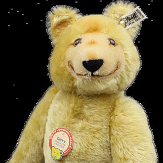 Very Cute Steiff Teddy Bear - 'Dicky' - Unplayed With Condition