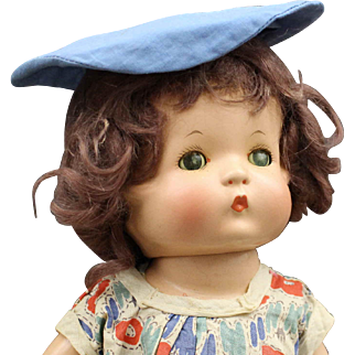 """Vintage Wigged """"Patsy"""" Composition Doll by Effanbee"""
