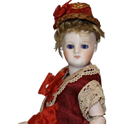 FRENCH MINGONNETTE (Small Doll) ALL-BISQUE DOLL