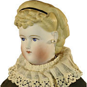 ANTIQUE GERMAN PARIAN CHINA DOLL