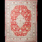 Antique Vibrant Oushak Carpet, 11' x 15'