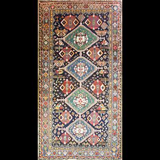 "5'9"" x 11'2"" Amazing Qashqai Long Carpet"