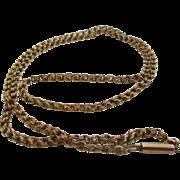 Ladies 14kt Victorian safety chain
