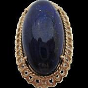14kt Lapis lazuli ladies ring