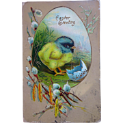 4 Easter Postcards early 1900's