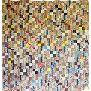 mid 1800 Fabulous Quilt Top...great calicos