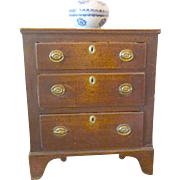 Antique English Oak Chest of Drawers