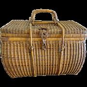 Antique Japanese storage Basket