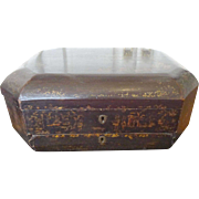 Chinese lacquer Sewing Box / Tea cady / 19th c.