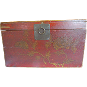 Chinese Storage chest OLD distressed