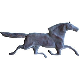 Horse Weathervane- Copper - Racing with the Wind