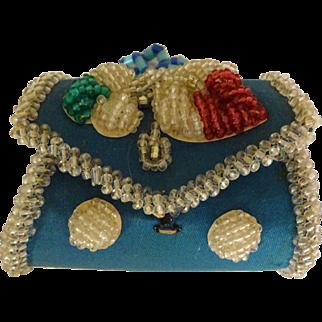 Whimsy Beaded Box Exc. Iroquois Souvenir