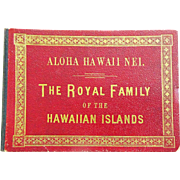 Early Album of Hawaii's Royal Family c. 1900