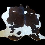 Cow Skin Rug ~ Black and White Holstein