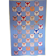 1920's Spirit of St. Louis Quilt- Charles Lindbergh Commemoration \ Charm