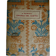 "Robert Browning ""Andrea Del Sarto"" Monologue book"