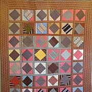 mid 1800's Quilt - Fab Fabrics!!