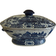 Chinese Export Canton Tureen