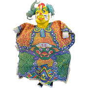 old Chinese hand Puppet - Folk Art