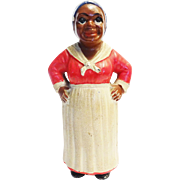"Hubley Cast Iron Bank ""Aunt Jemima"" c. 1930"