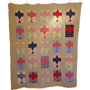 1920's Spirit of St. Louis Quilt- Charles Lindbergh Commemoration