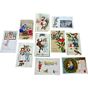 Postcards Christmas  10 pcs   group2