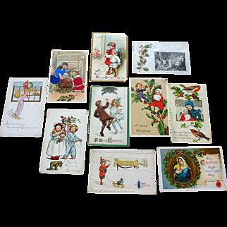Postcards Christmas  10 pcs   group2
